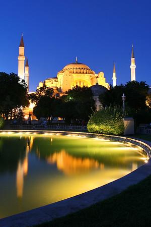 Ayasofia, Instanbul, Turkey.