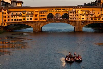 Ponte Vecchio bridge, Firenze, Toscany, Italiy.