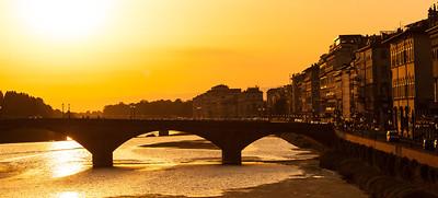 Ponte Vecchio bridge, Firenze, Toscany, Italia.