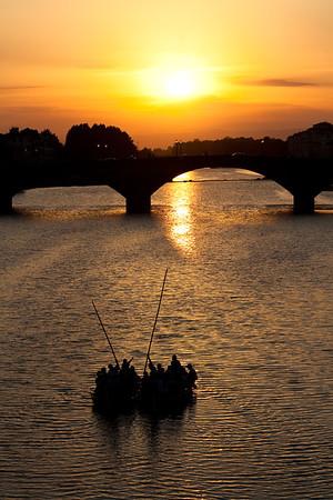 Ponte Vecchio bridge, Firenze, Toscany, Italy.