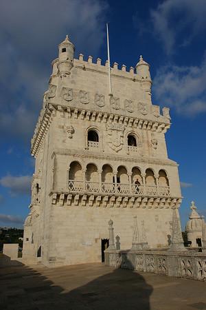 Torre de Belem, Lisboa, Portugal.
