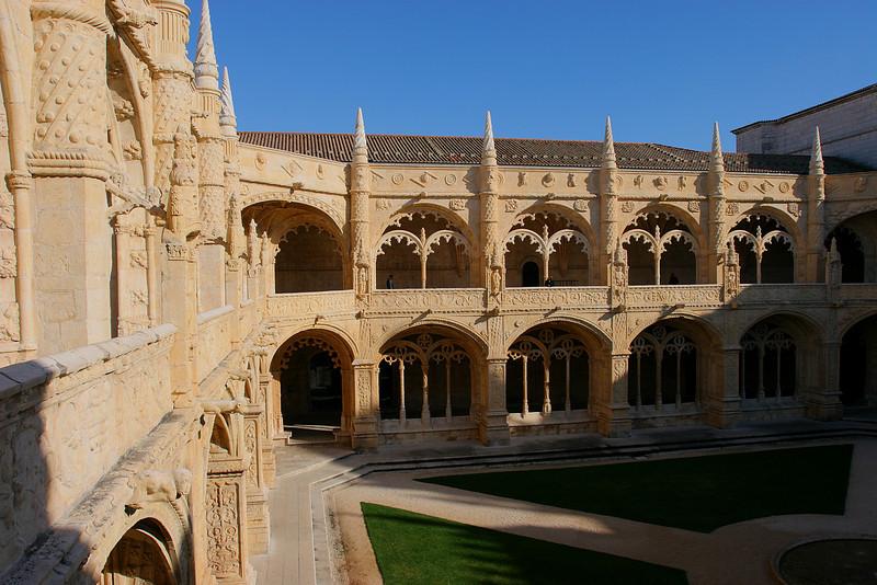 Mosteiro dos Jeronimos, Lisboa, Portugal.
