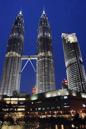 The twin towers, Kuala Lumpur, Malaysia.