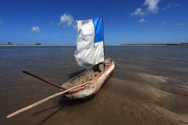Savane beach, Sofala, Mozambique.