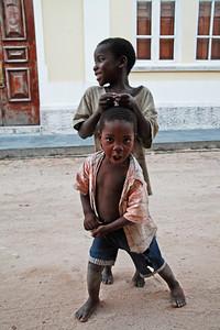 Kids from Ilha de Mozambique, Mozambique.