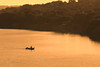 Fisherman on the lake, Chidenguele, Mozambique.