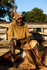 Fisherman from Catembe, Mozambique.