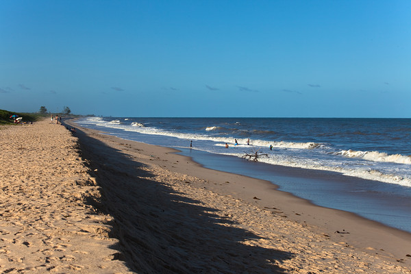 Savane beach, Sofala, Mozambique.