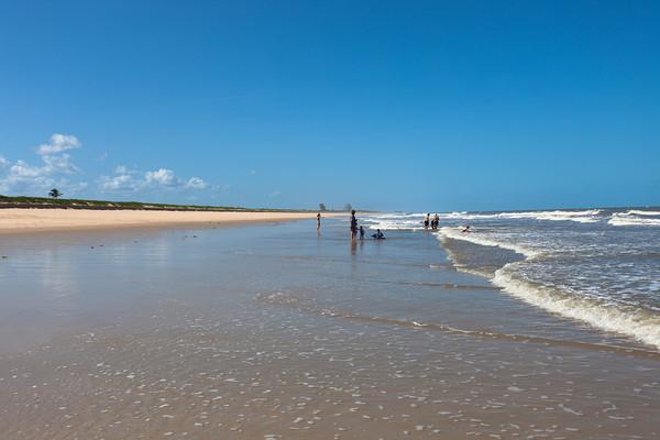 Rio Savane beach, Sofala, Mozambique.