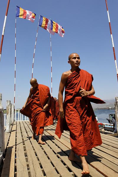 Monk festival, Inle lake, Myanmar.