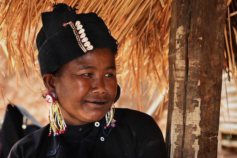 Eng woman, Golden triangle hills, Myanmar.