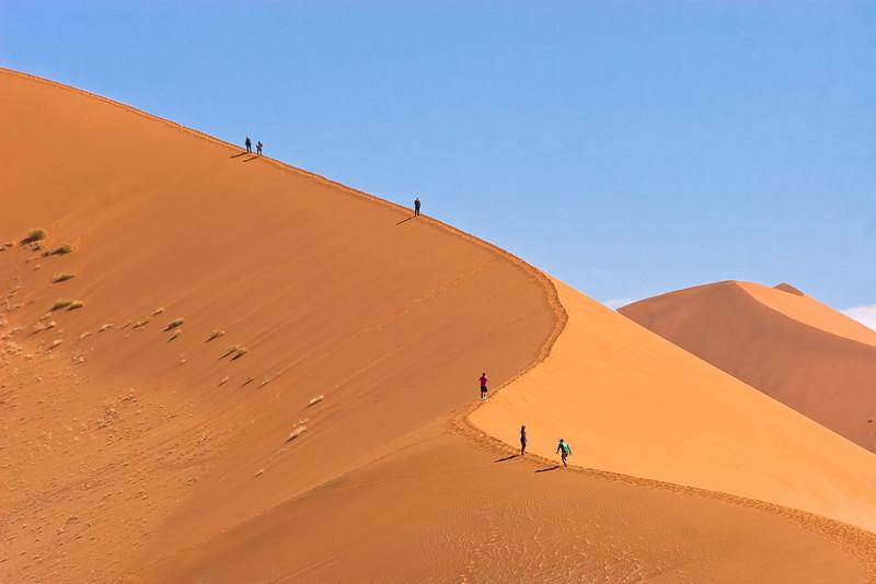 Dune from Sossusvlei, Namibia.