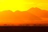 Dunes at sunrise from Sossusvlei, Namibia.