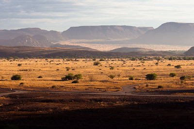 Landscape from Damarland, Namibia.
