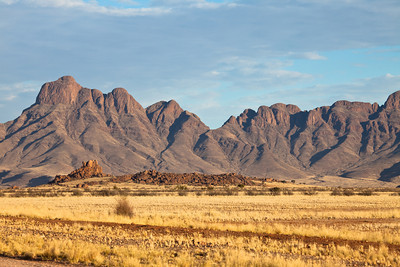 Landscape from Namibrand reserve, Namibia.