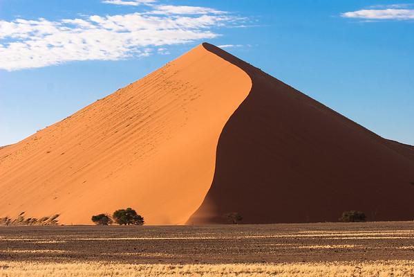 Dune 45 from Sossusvlei, Namibia.