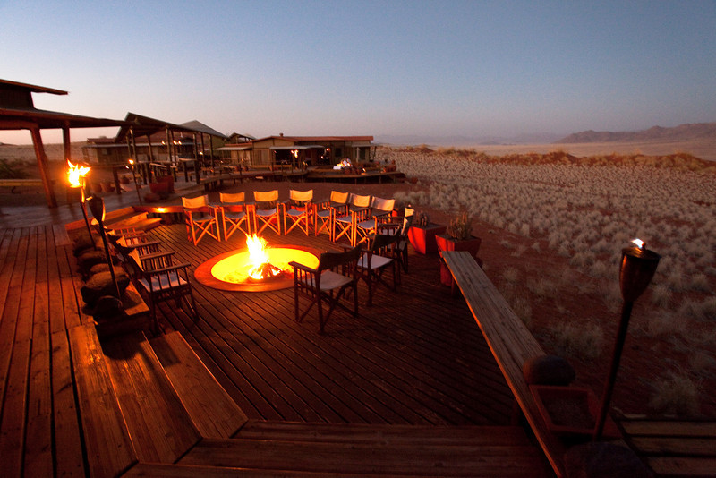 Wolwedans lodge camp, Namibrand, Namibia.
