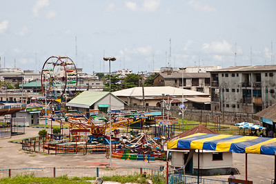 Recreational park, Apapa, Lagos, Nigeria.