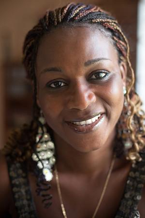 Tessie Portrait, Lagos, Nigeria.