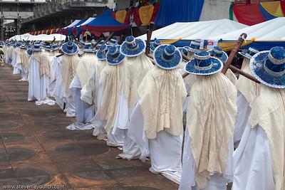 Eyo festival, Tafawa Balewa Square, Lagos, Nigeria.