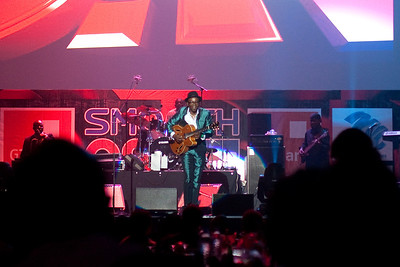 Jimmy Dludlu (South African singer) in concert at Eko Hotel, Lagos, Nigeria.