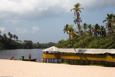 Tropicana beach, 60 km from Lagos, Nigeria.