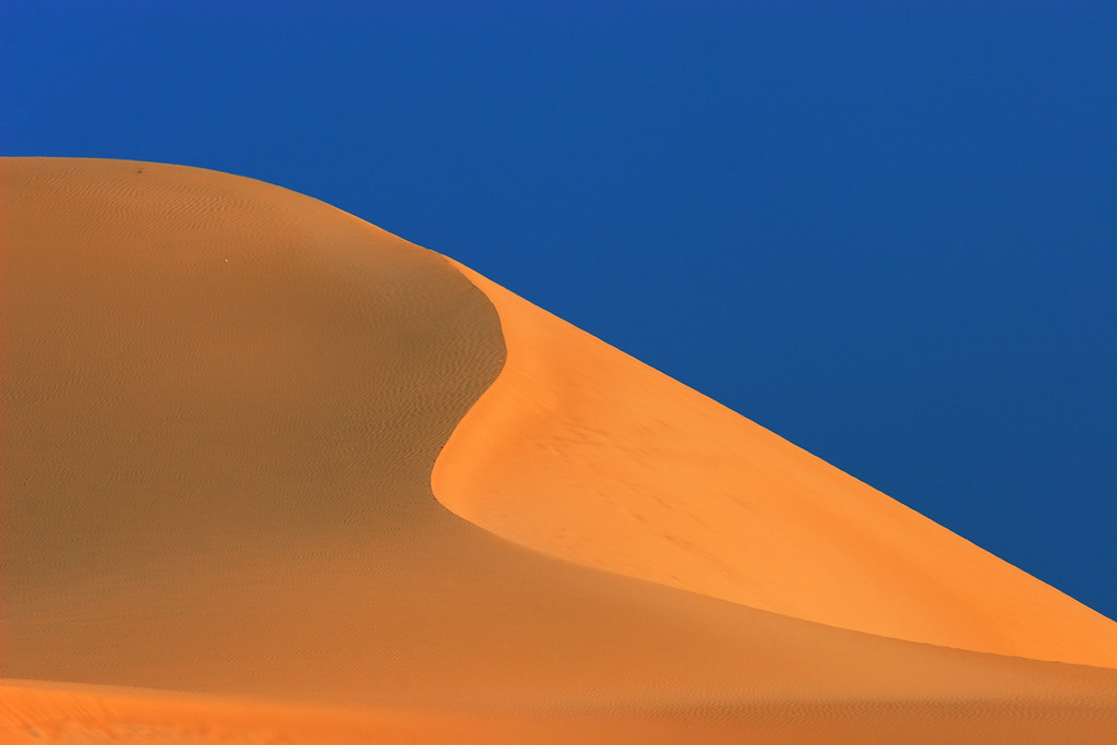 Dune from Ras Al Jinz, Ash Sharqiyah, Sultanate of Oman.