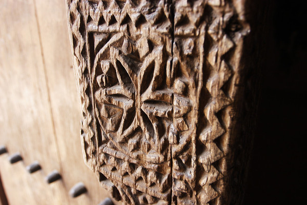 Detail from the Nizwa fortress, Oman.