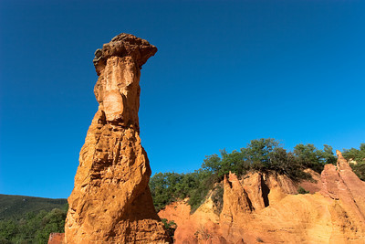 Ochres from Roussillon, Provence.