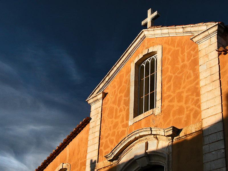 Roussillon, Provence, France.