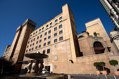 Michael Angelo hotel, Johannesburg, South Africa.