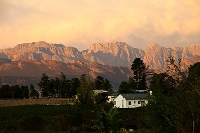 Franschhoek area, South Africa.