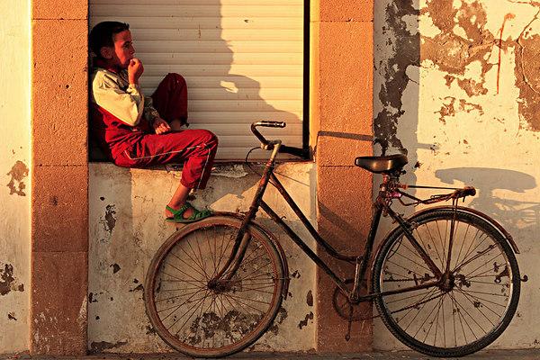 Kid from Essaouira, Morocco.