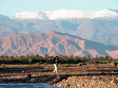 Atlas mountains, Skoura, Morocco.