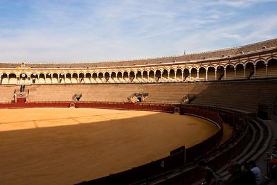 Arena de Sevilla, Andalusia, Spain.