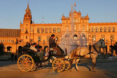 Plaza de Espanha, Sevilla, Spain.