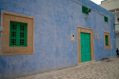 House from the medina, Kairouan, Tunisia.