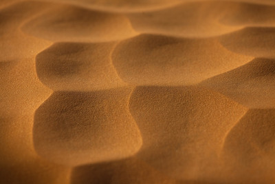 Sand patterns from Tamezret, Tunisia.