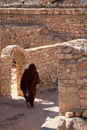 Silhouette from Toujane, Tunisia.