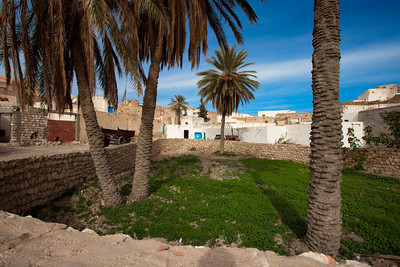 Garden from Tamezret, Tunisia.