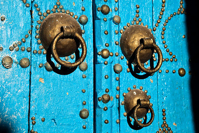 Detail from a door of Tozeur, Tunisia.