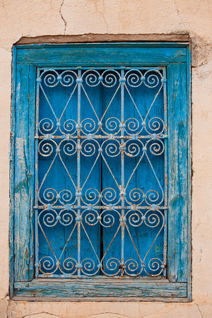 Window from Tamerza, Tunisia.