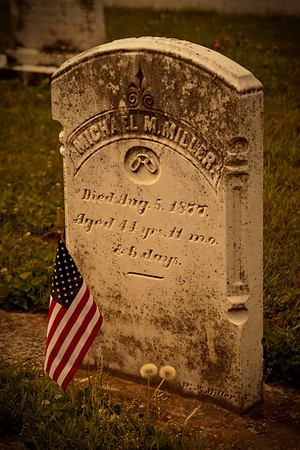 Tomb from the Civil War, Gettysburg, United States of America.