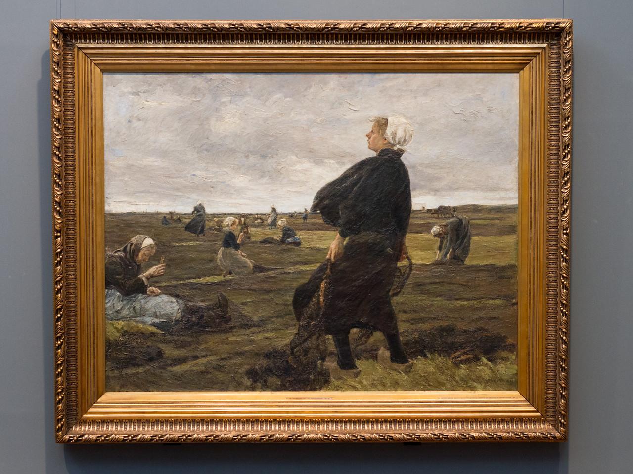 Max Liebermann (1847-1935): Die Netzflickerinnen, 1887/89