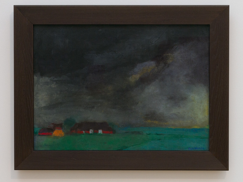 Emil Nolde (1867-1956): Hülltoft Hof, 1932