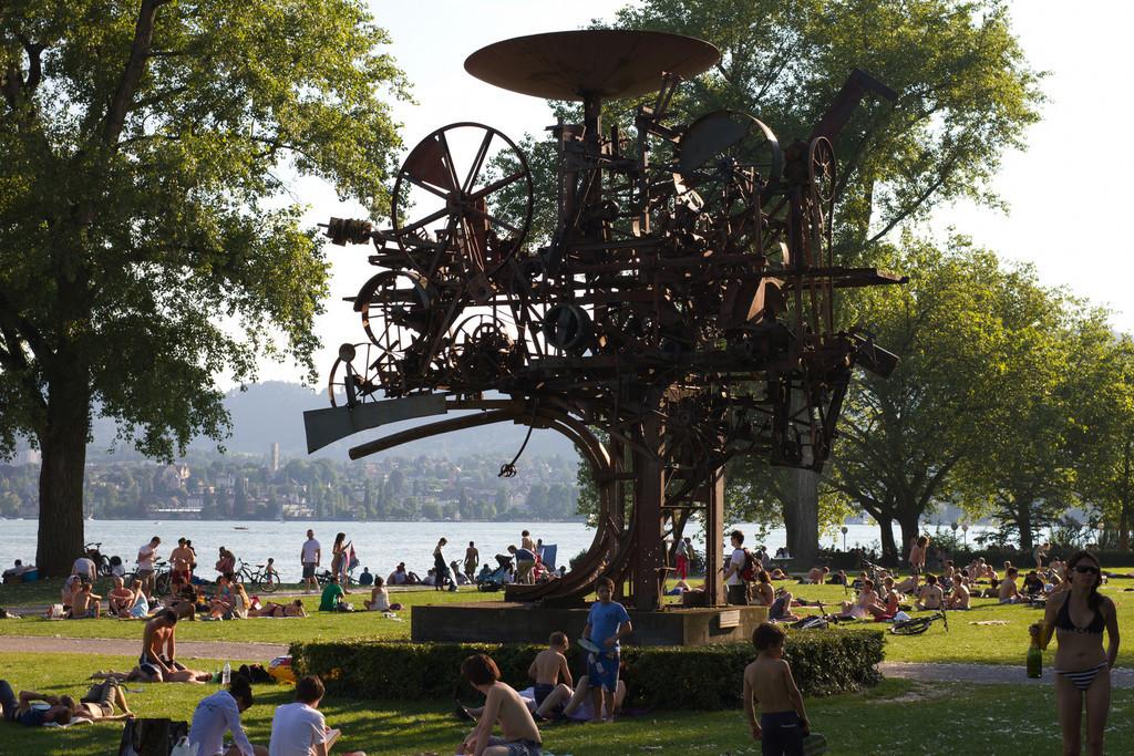 Zurich, Zurichhorn. June 26 @ 18:47