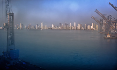 Foggy Arrival - Cartagena
