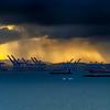 Shipping Dock Sunrise