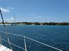 Arriving Tintamarre Island