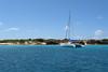 Tintamarre Island near St. Martin